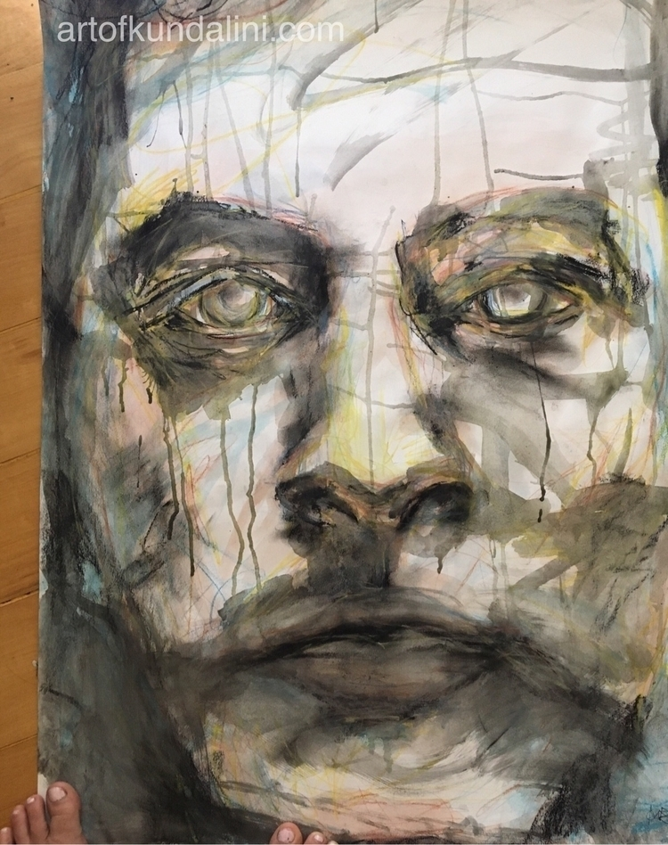 Modigliani ... fly wall studio  - arnabaartz | ello