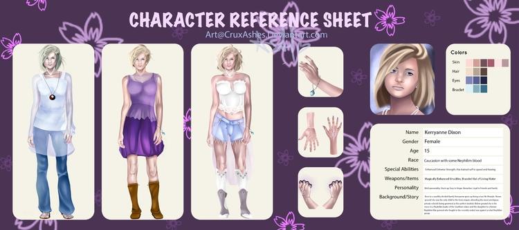 time character sheet. lot fun  - cruxashes | ello