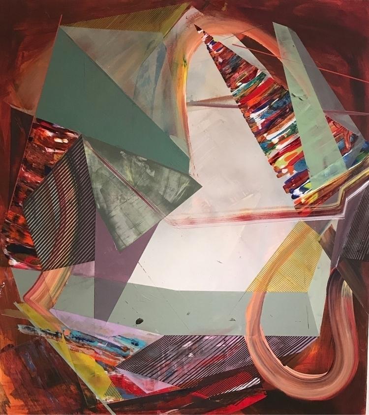 Finished painting night. Indeli - jennifferomaitz | ello