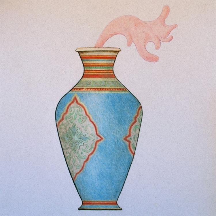 illustration, drawing, coloredpencils - 3-3-3 | ello