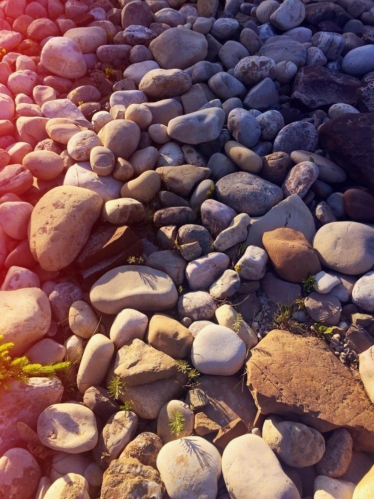 rocks, texture, sunsetlight - wscottlaw | ello