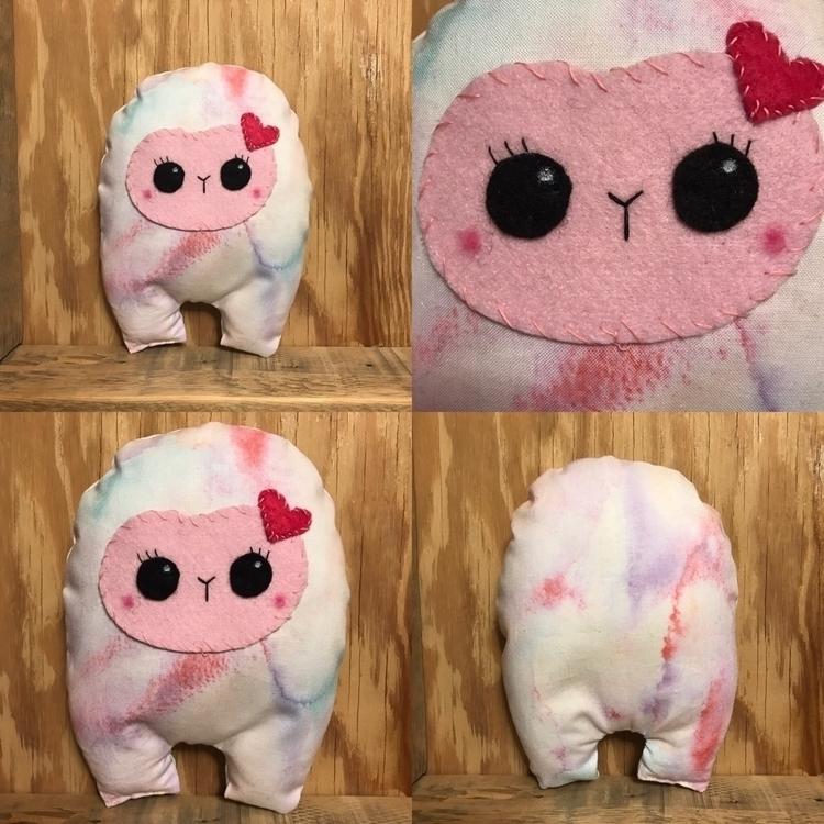 Pink Watercolor Huggle shop - etsy - tykesanimalkingdom | ello