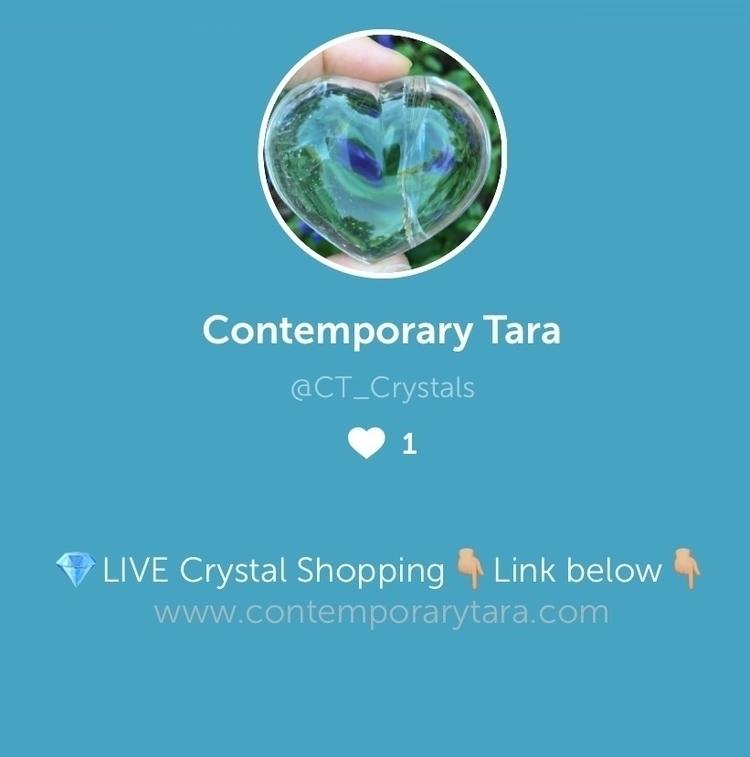 Join Periscope live crystal sho - ctcrystals | ello