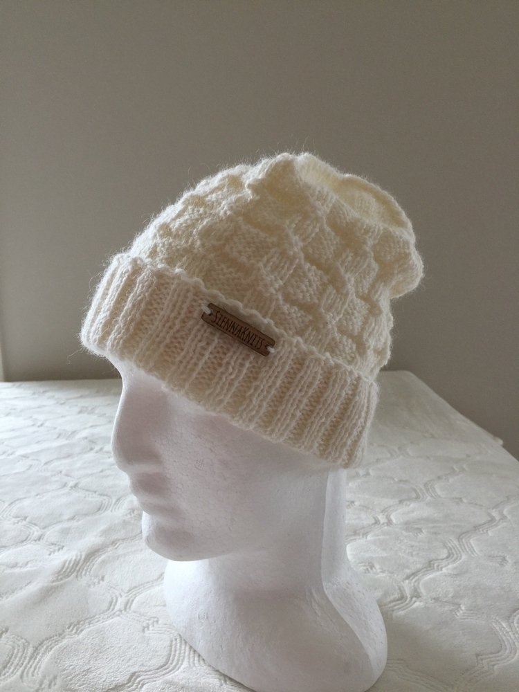 100 % wool handmade knitted bea - siennaknits | ello