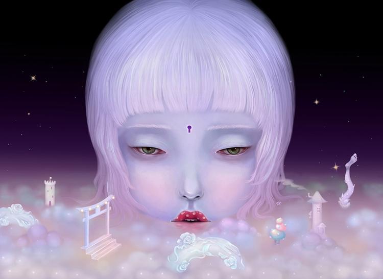 'Night Poem III' amazing purcha - wowxwow | ello