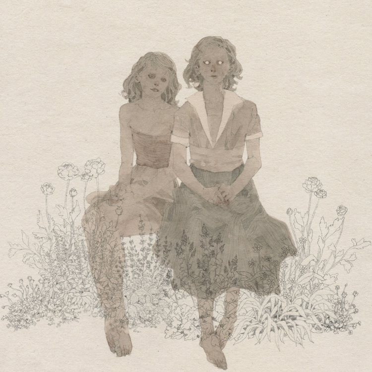heartache blooms - drawings, print - lucong   ello