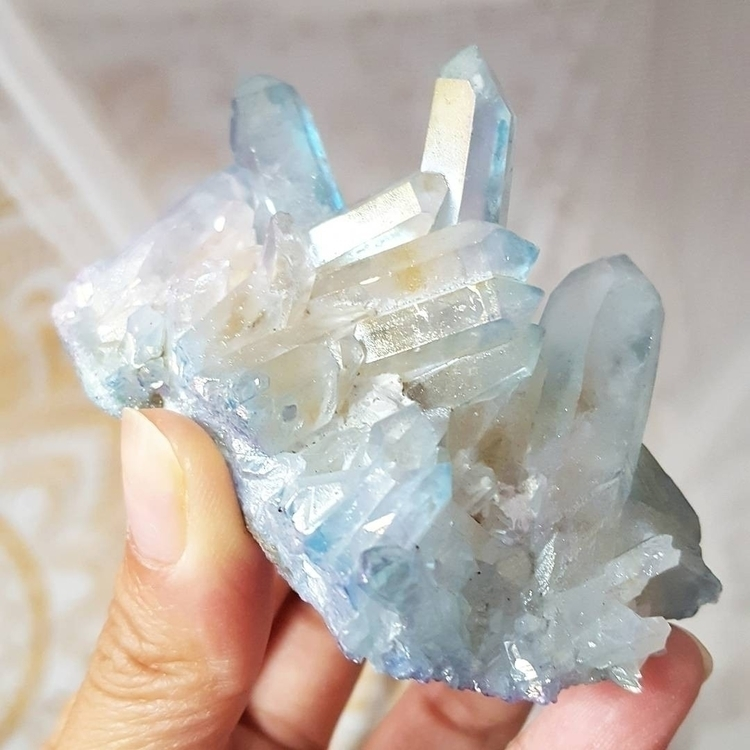 Gorgeous Sky Blue Angel Aura Qu - crystallizedkiss | ello