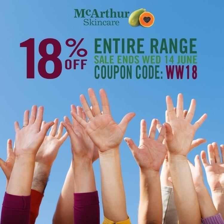 18% entire McArthur Skincare ra - mcarthurskincare | ello