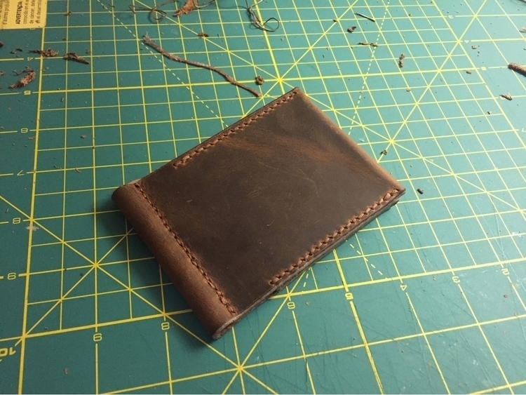 Money clip wallet. Holds multip - twinflameleatherco | ello