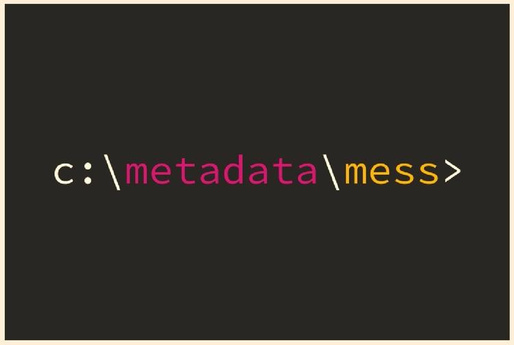 Metadata Mess - metadata, decrypt - valosalo | ello