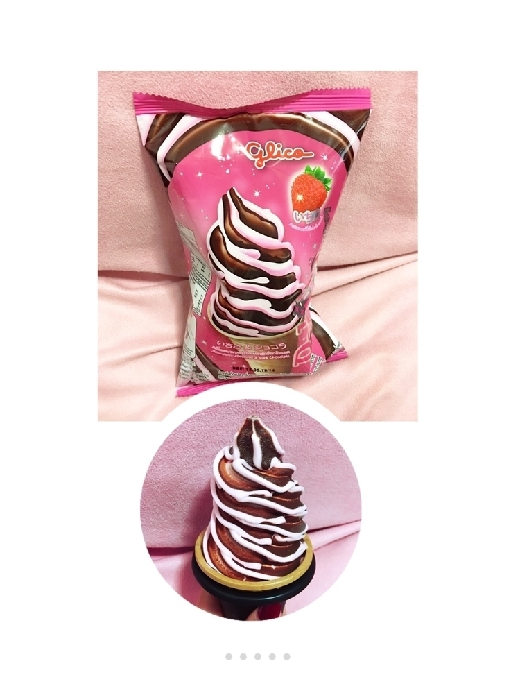 glico, strawberry - angelto | ello