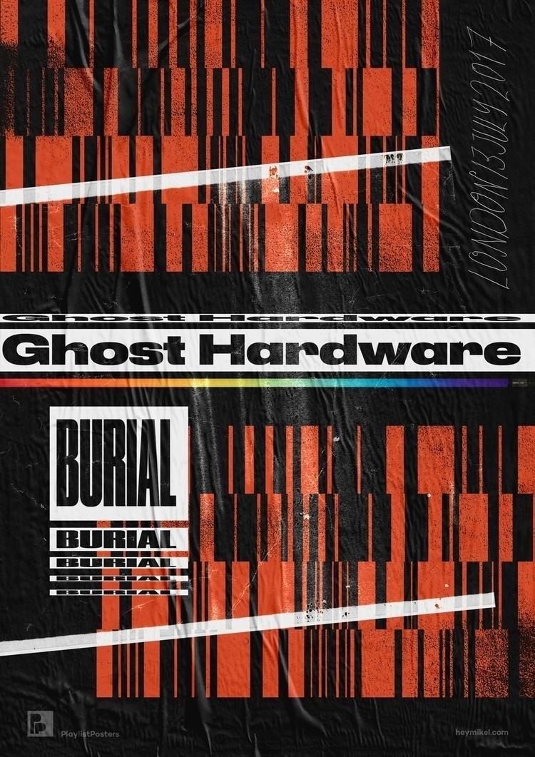 Playlist-posters // Ghost hardw - heymikel | ello