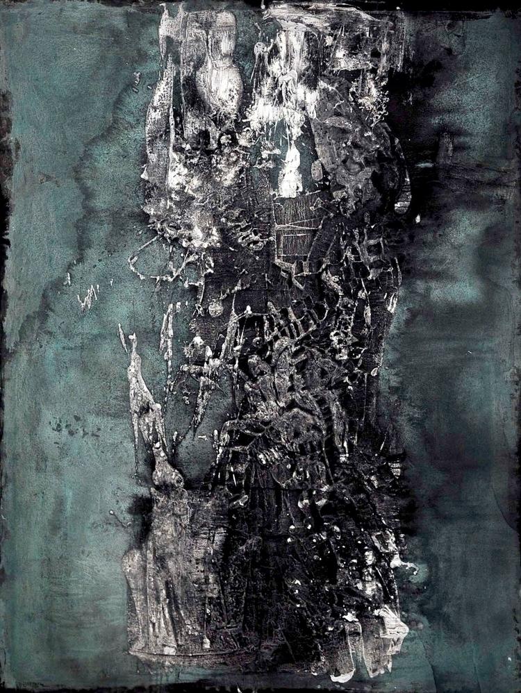 canvas - mixed, media - elistiliou | ello