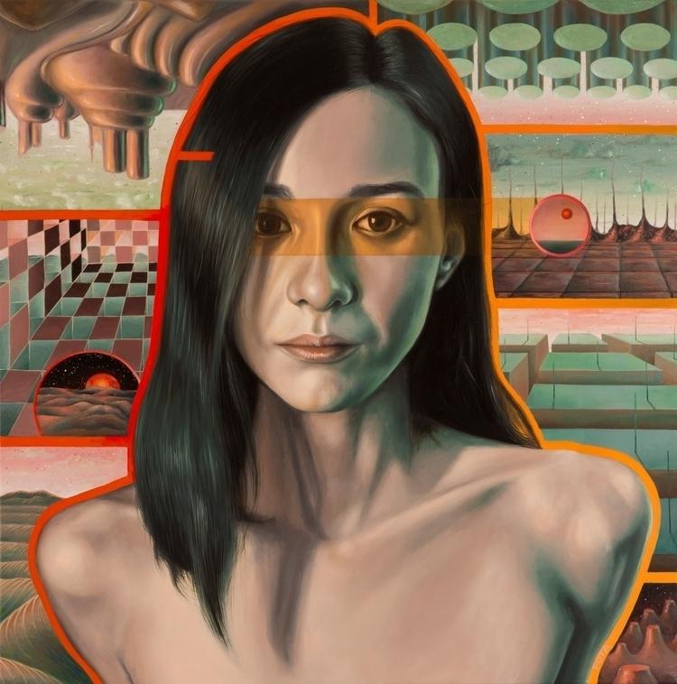 Realm Selection Oil canvas 50x5 - victorfota | ello