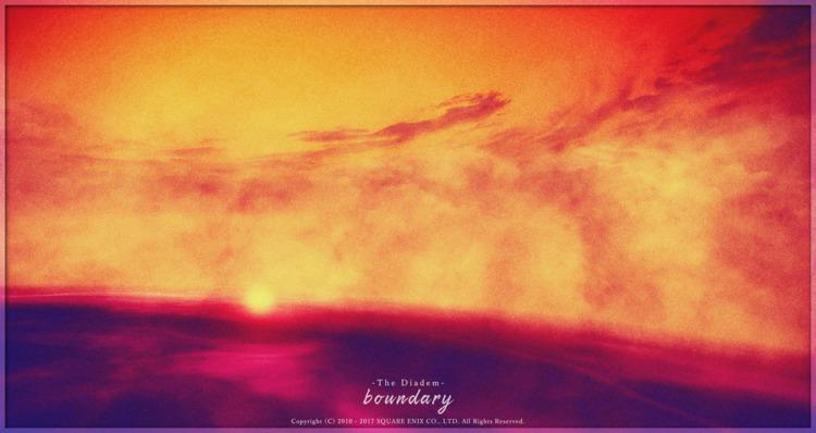 boundary ディアデム諸島 より - FF14, FFXIV - flcvs   ello