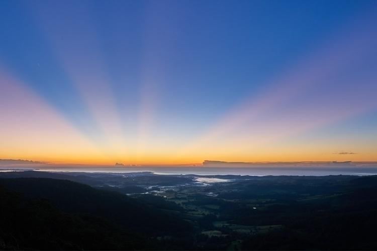 unicorns born - photography, sunrise - solarfractal | ello