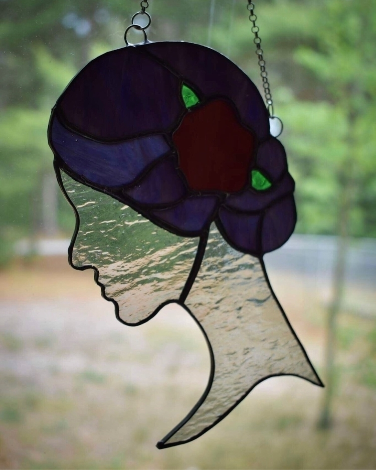 newest Victorian Lady hair colo - wickedstainedglass | ello