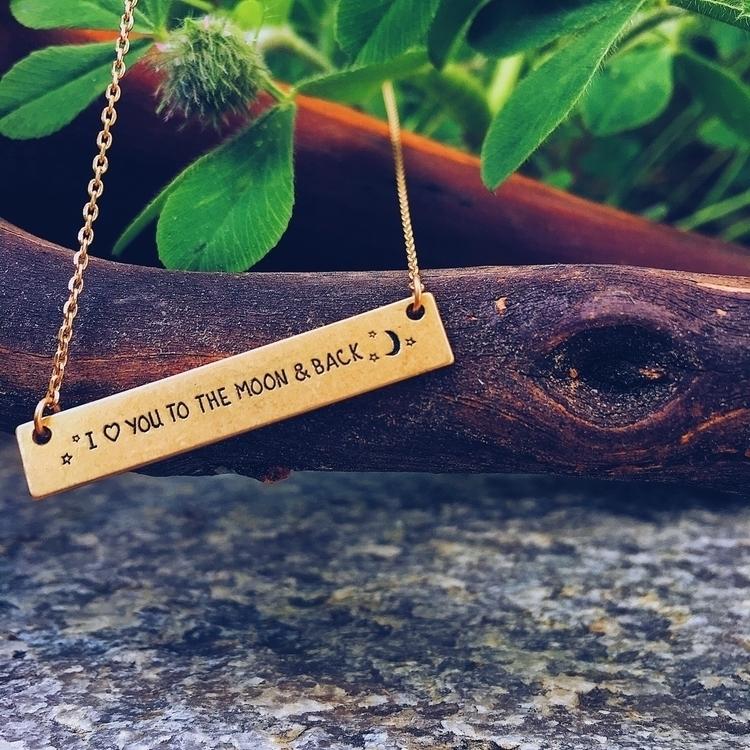 Inspire Necklace Love Moon $15 - emilyway   ello