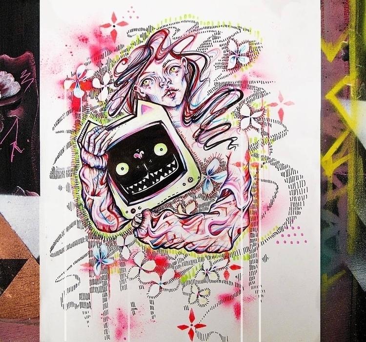 Doodle sketch - art, portrait, sketching - femsorcell | ello