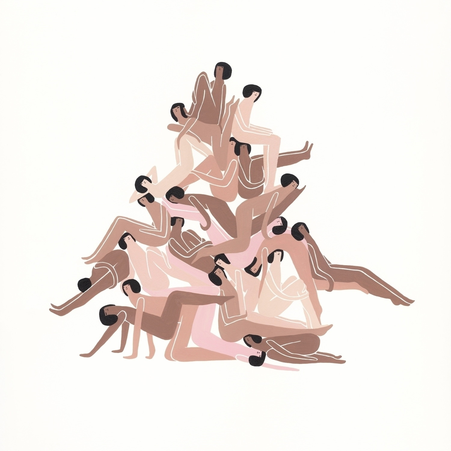 Togetherness Laura Berger Plann - mulegallery | ello