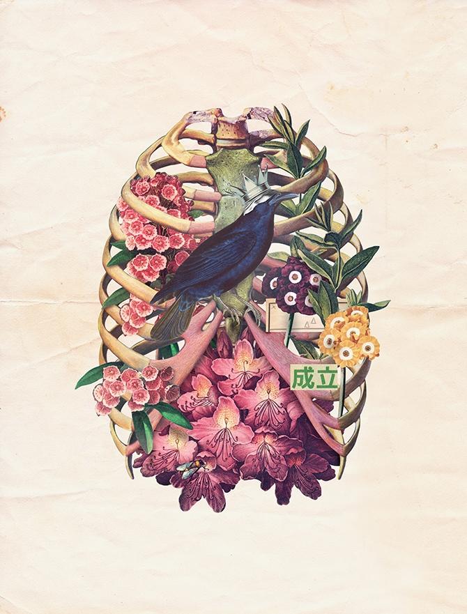 Digital Collage - 67,5x89cm Ome - marcellisboa | ello