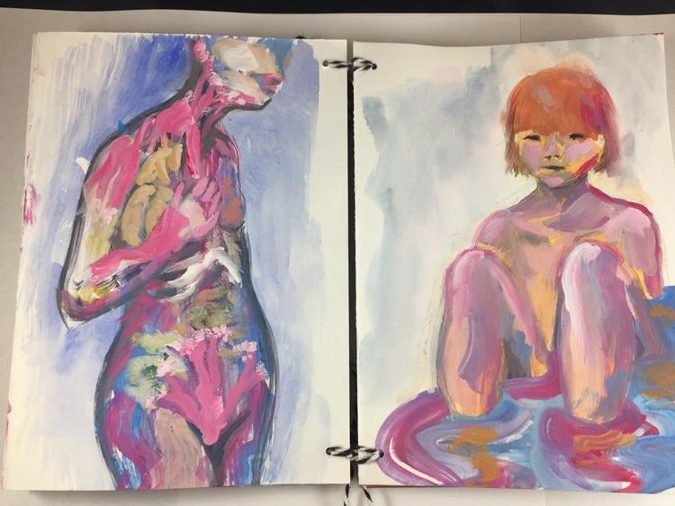 pages sketchbook project - kentack | ello