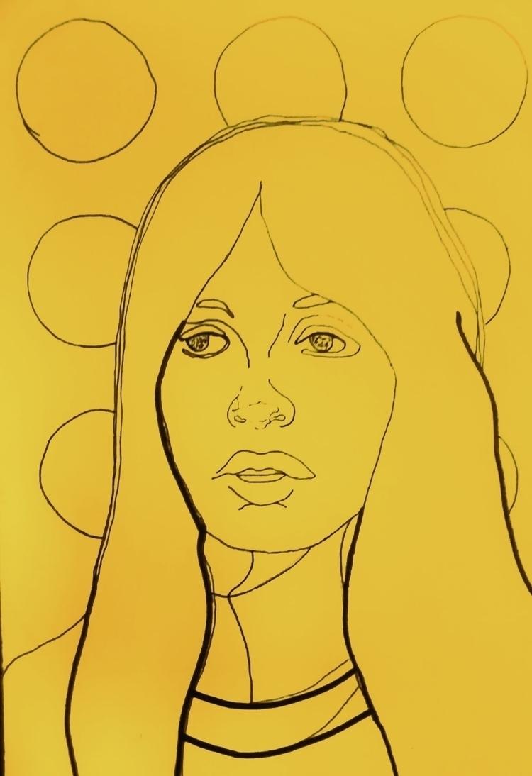 Yellowish ///// ink paper - La  - guiart | ello