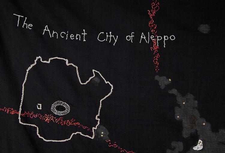 Detail Night Sky Aleppo, Syria  - mulegallery | ello