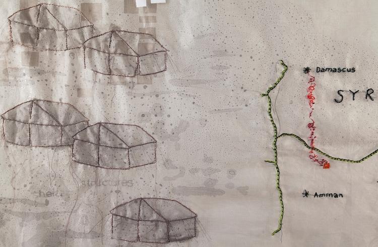 Detail Shelter Structure (Al Za - mulegallery | ello