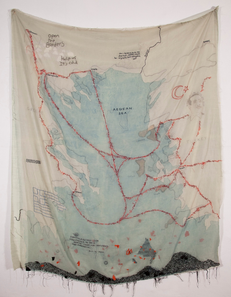 Sea Aegean) Kathryn Clark Mule  - mulegallery | ello
