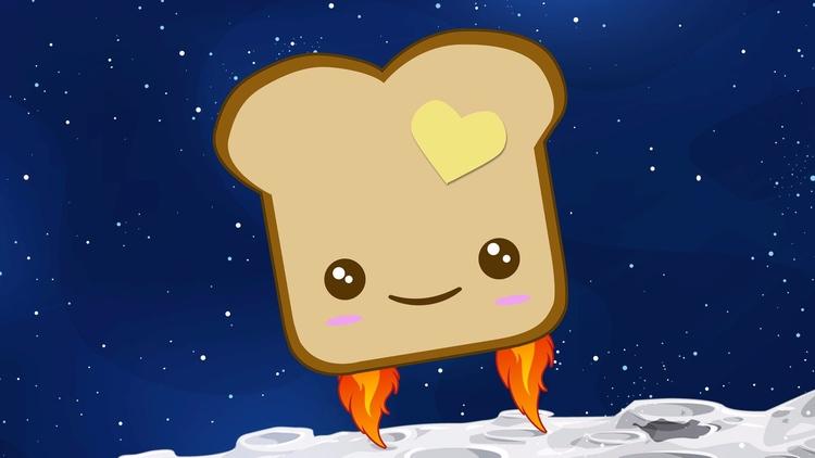 Baking crumb-free bread Interna - bonniegrrl | ello