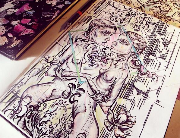 sketchbook - femsorcell, sketcbook - femsorcell | ello