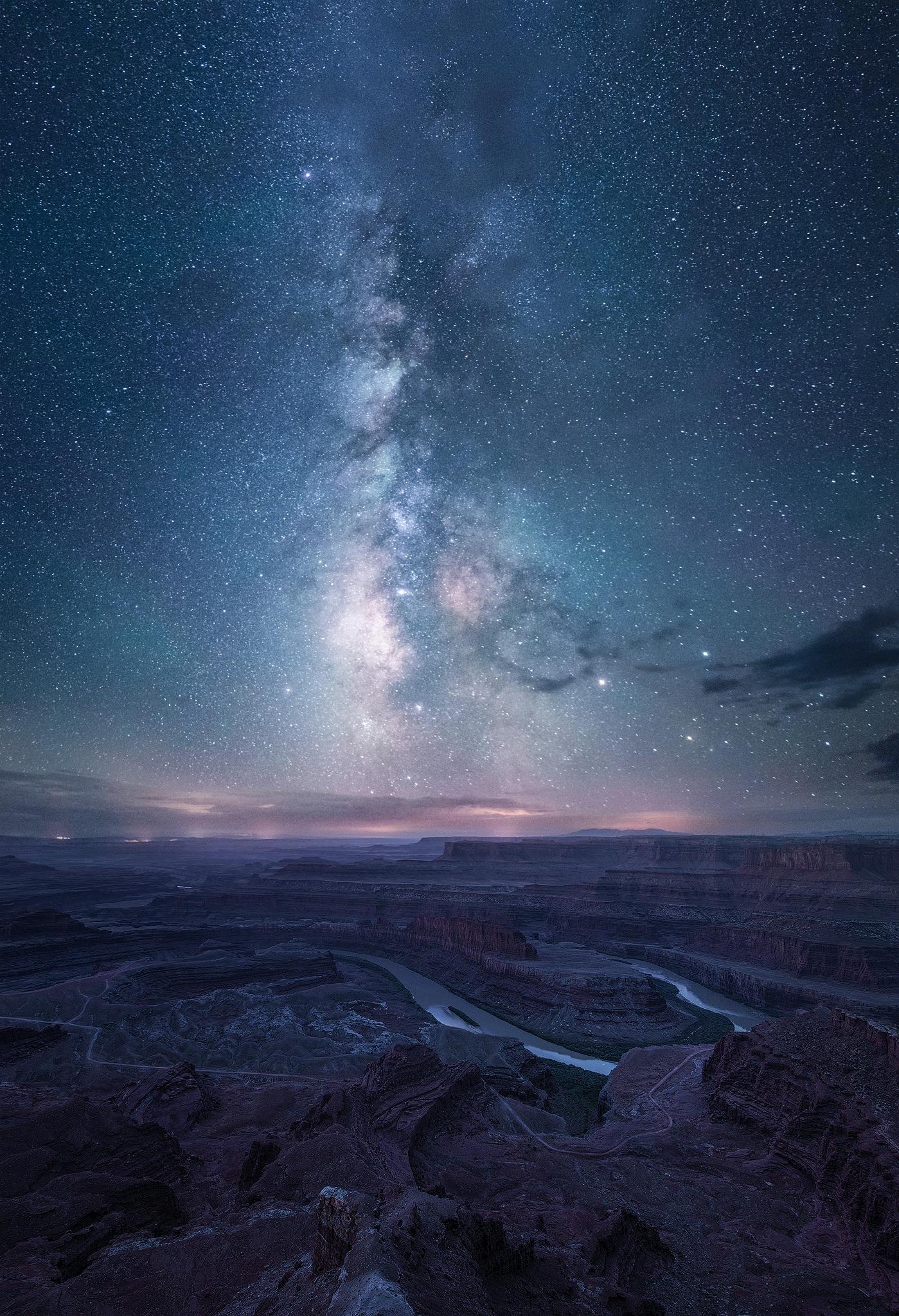 star-filled evening Dead Horse  - skyfolk | ello