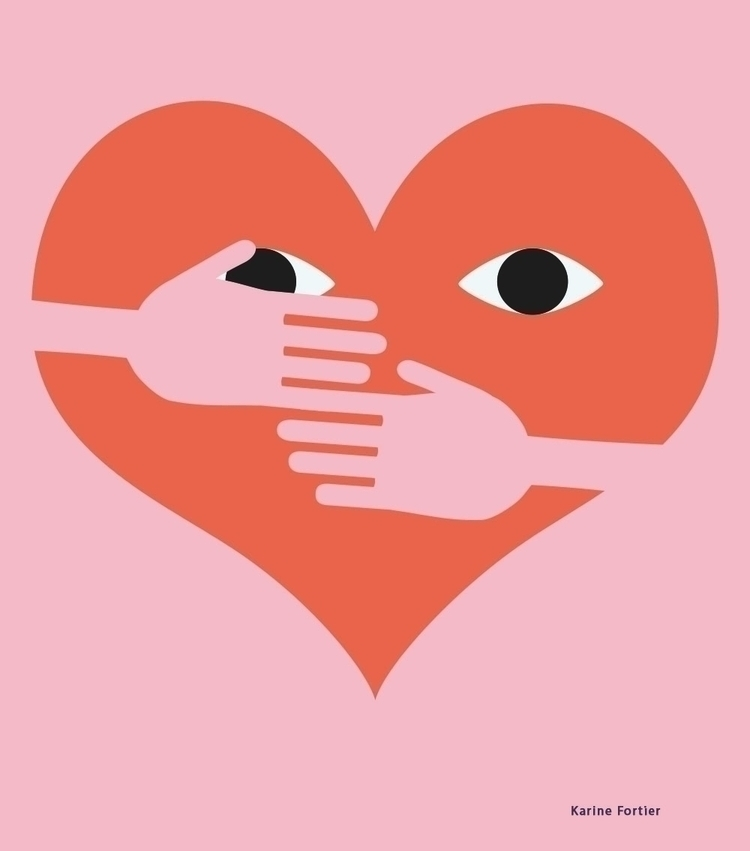 Shy  - illustration, editorial, work - helloppomme | ello