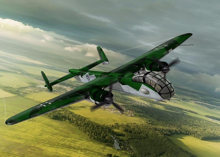 Junkers Ju 288 - Rhino/ Flaming - nanogeist | ello
