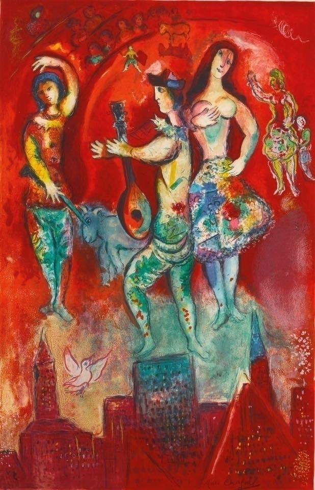 Carmen Marc Chagall 1966 - masters - bitfactory | ello