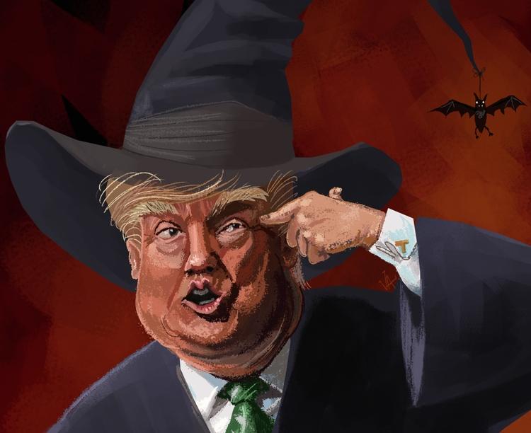 Witch hunt. Yep dude. Gosh LOVE - vawalker | ello