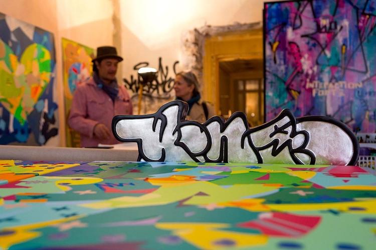 les Ephémères, Paris - kongoart - kongo-art | ello
