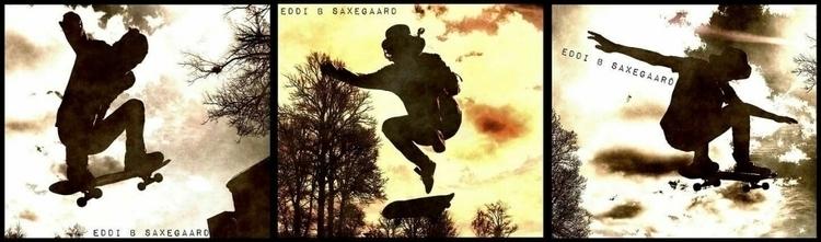 TB summer. flying skaters Fredr - eddisaxegaard | ello
