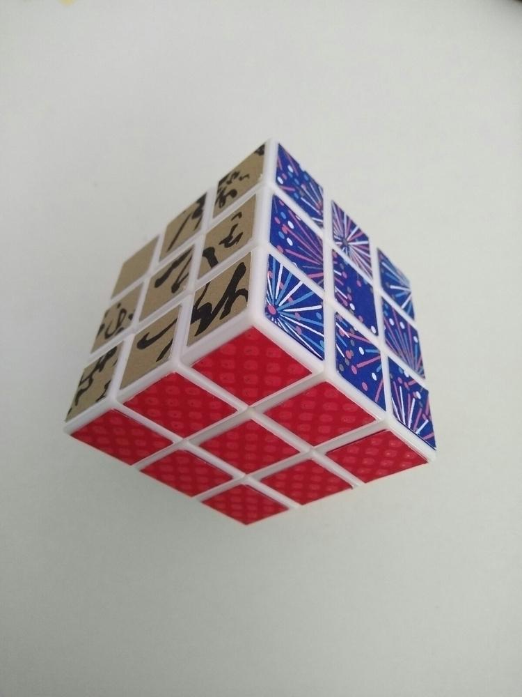 Rubigami cube - japonerias, chiyogami - japonerias | ello