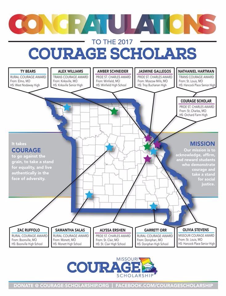 Missouri Courage Scholarship An - boommagstl | ello