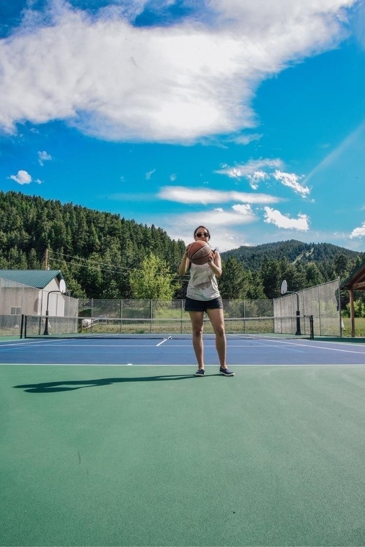 teaching katy play tennis - summer - stevilm | ello