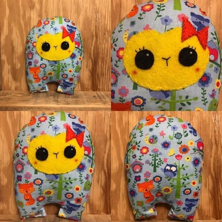 Colorful Forest Huggle  - handmade - tykesanimalkingdom | ello