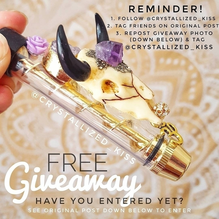 Check giveaway Instagram!!!  - mmj - crystallizedkiss   ello