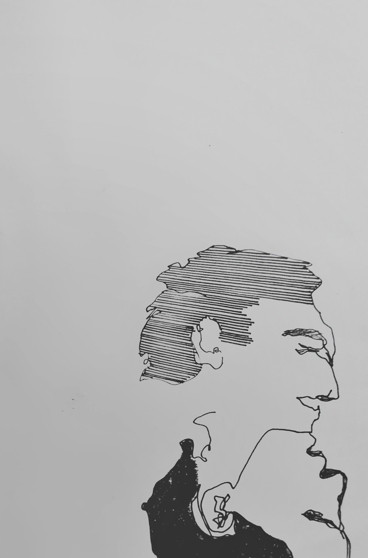 Réflex ///// ink paper - art, drawing - guiart | ello