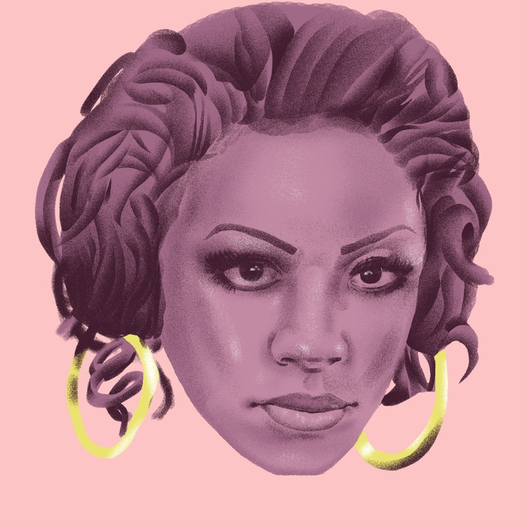 Keyshia Cole - illustration, illustrator - richchane | ello