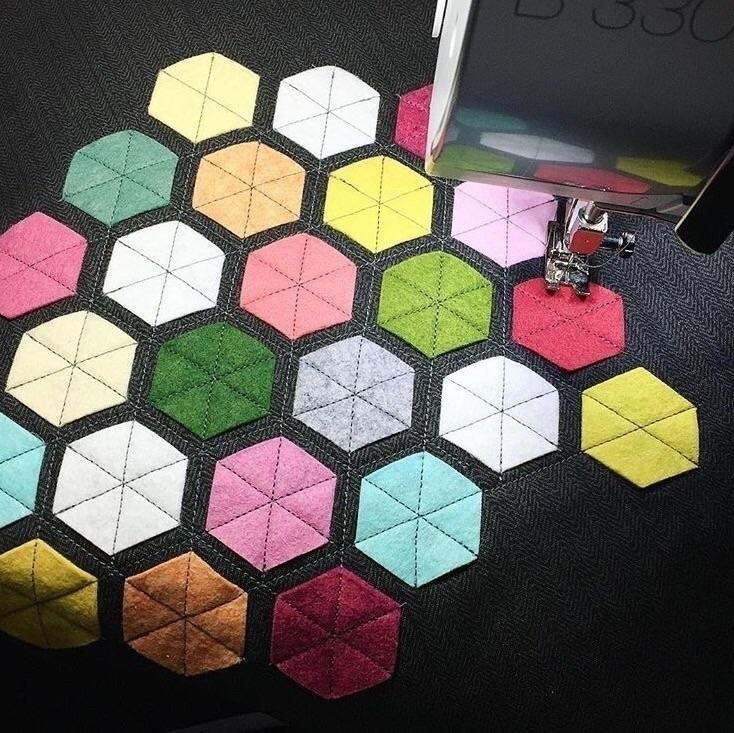 Hexagonal Pillow Project - throwpillow - yanadesigns | ello