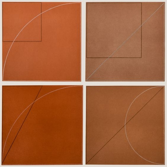 Robert Mangold Aquatints, 1975 - modernism_is_crap | ello