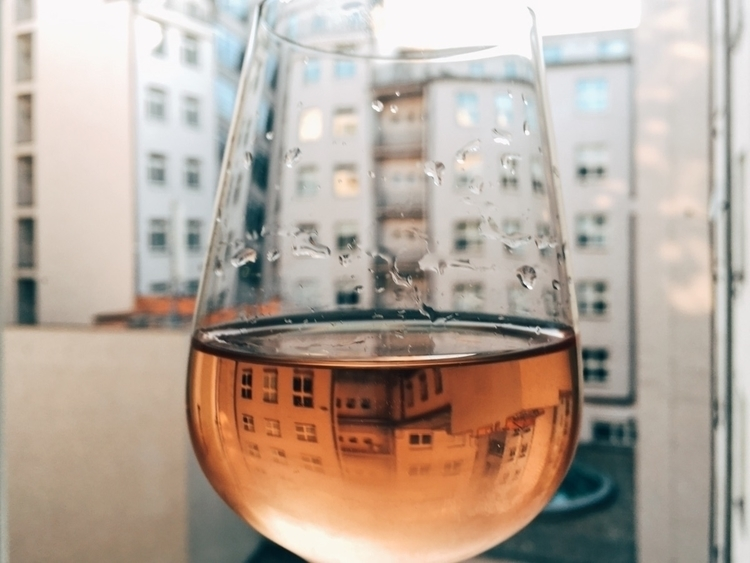 world glass - rosé, wine, Pink, lens - edward3 | ello