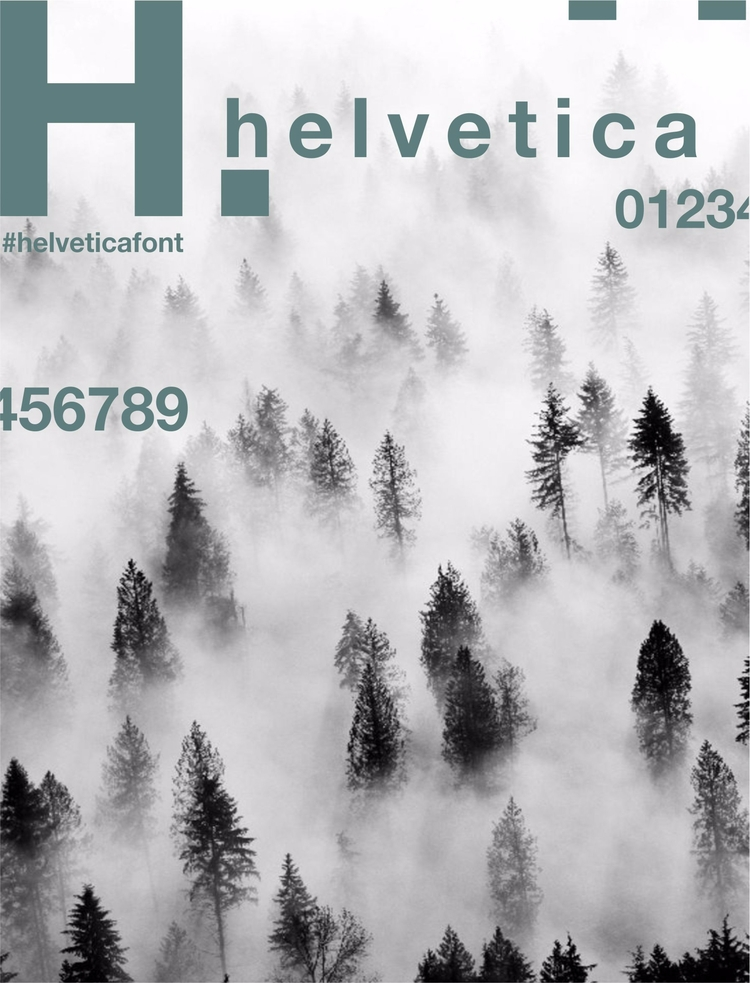 helvetica, font, typography, design - mili_katoi | ello